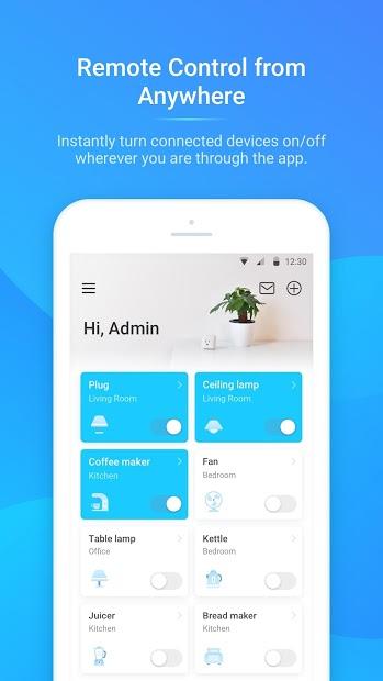 Screenshots Tapo: Ứng dụng quản lý, điều khiển thiết bị gia đình thông minh