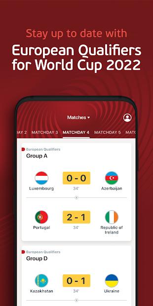 Screenshots EURO 2020 Official - Cập nhật tỷ số chính xác, nhanh chóng