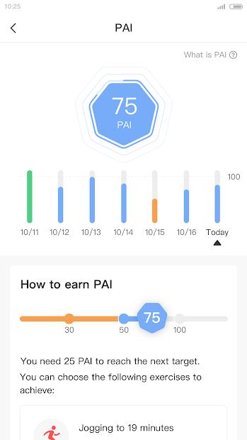 Screenshots Zepp: Ứng dụng quản lý dữ liệu sức khỏe với thiết bị Zepp và Amazfit