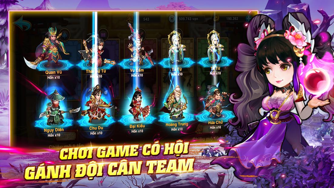 Screenshots Tải Tam Quốc Tranh Phong - Đỉnh cao game chiến thuật