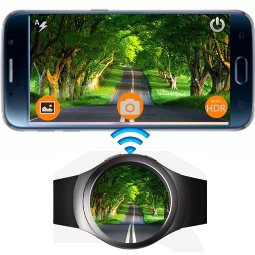 Screenshots Remote Camera Pro: Điều khiển camera điện thoại từ xa bằng đồng hồ thông minh Samsung