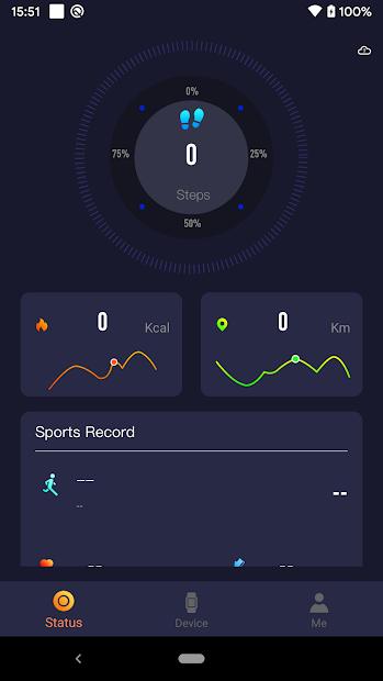 Screenshots Smart-Time Pro: Ứng dụng quản lý dữ liệu tập luyện trên đồng hồ BeU