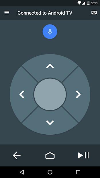 Screenshots Android TV: Ứng dụng điều khiển Android TV bằng điện thoại