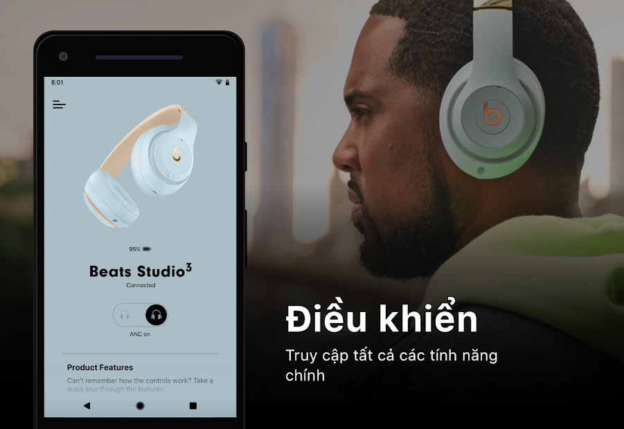 Screenshots Beats Pill⁺: Ứng dụng điều khiển loa Beats Pill
