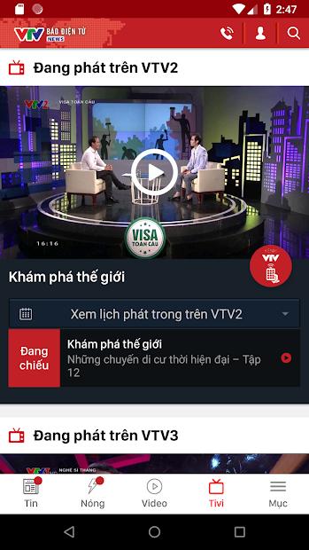 Screenshots Tải VTV News - Ứng dụng xem tin tức, giải trí cùng VTV