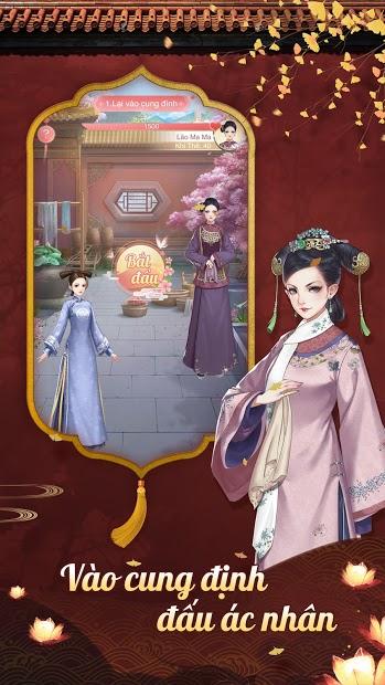 Screenshots Hoàng Hậu Giá Đáo - Game hoàng cung tranh đấu hấp dẫn