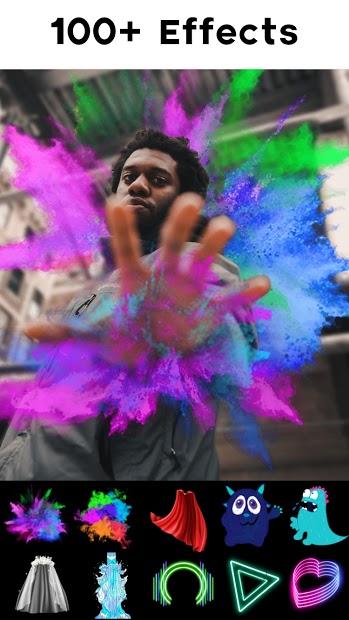 Screenshots Tải Neon Photo Editor - Chụp ảnh hiệu ứng Neon, xoắn óc AI