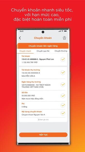 Screenshots Tải MSB mBank - Ứng dụng Mobile cho khách hàng cá nhân của Ngân hàng TMCP Hàng Hải