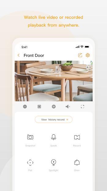 Screenshots Imou Life: Ứng dụng điều khiển thiết bị gia đình thông minh Imou