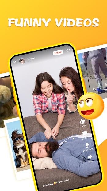 Screenshots Tải Helo - Meme, Video Hài Hước và Nội Dung Thịnh Hành