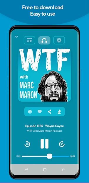 Screenshots Stitcher: Ứng dụng nghe Podcast miễn phí cập nhật tin tức mới nhất