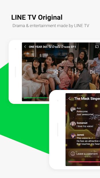Screenshots Tải LINE TV - Xem nội dung yêu thích của bạn mọi lúc, mọi nơi