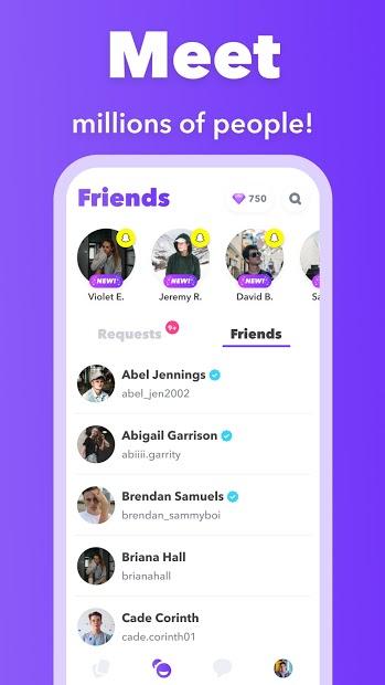 Screenshots Tải Wink - Ứng dụng tìm và kết bạn mới