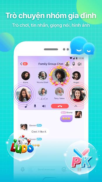 Screenshots Tải MeYo - Ứng dụng gặp trò tán gẫu trò chơi bốn phương