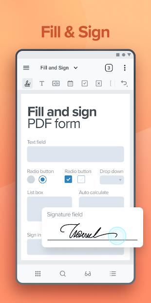 Screenshots Xodo PDF - Công cụ đọc file và chỉnh sửa PDF miễn phí