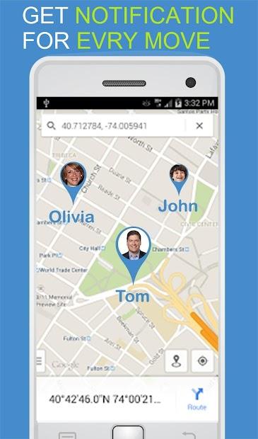 Screenshots OneLocator GPS - Ứng dụng theo dõi điện thoại theo số