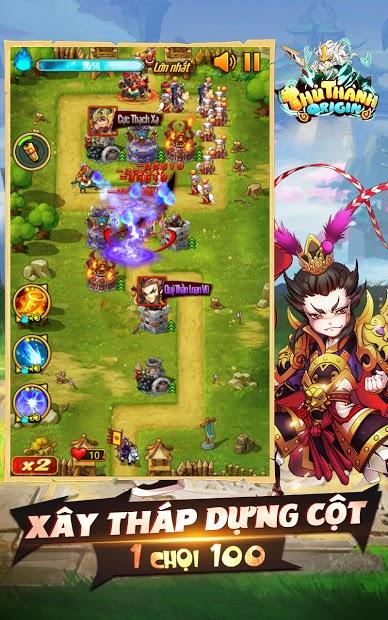 Screenshots Thủ Thành Origin Funtap - Game Tam Quốc bảo vệ thành trì hấp dẫn