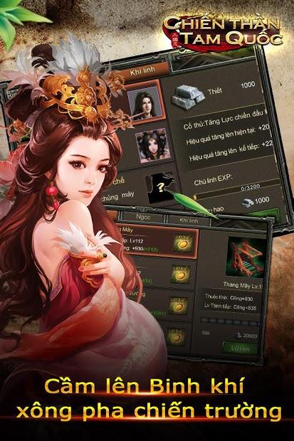 Screenshots Chiến Thần Tam Quốc - Tranh Bá