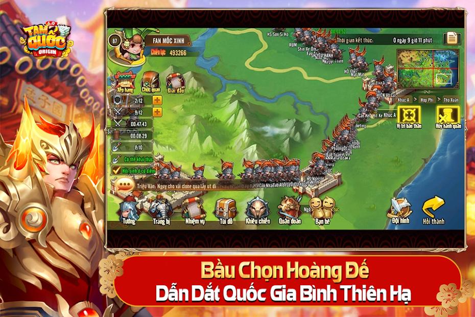 Screenshots Tam Quốc Origin - Game chiến thuật Tam Quốc đỉnh cao