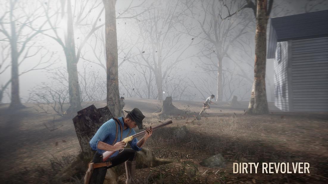 Screenshots Dirty Revolver - Game cao bồi miền Tây
