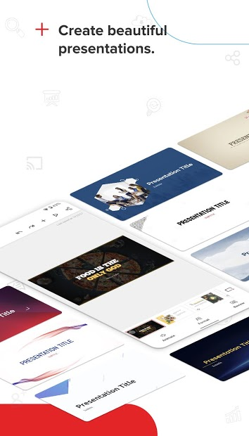 Screenshots Zoho Show - Công cụ tạo slide thuyết trình đa năng trên website, Android, iOS, Smart TV