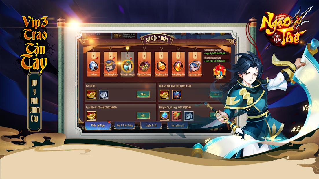Screenshots Ngạo Thế Tam Quốc - Game chiến thuật đấu tướng đỉnh cao