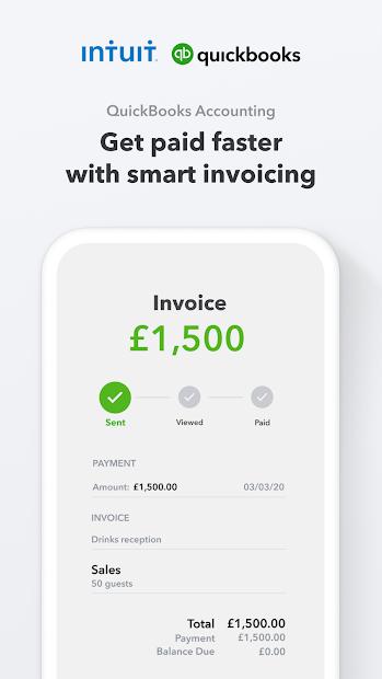 Screenshots Tải Quickbooks: Ứng dụng kế toán, quản lý tài chính doanh nghiệp