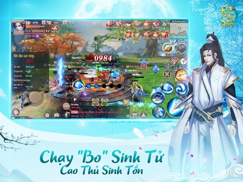 Screenshots Tân Trường Sinh Quyết - Game nhập vai PK đẳng cấp cao thủ