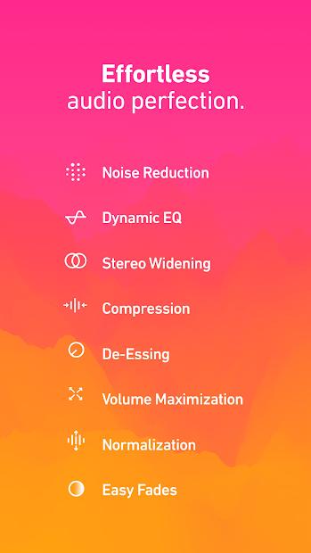 Screenshots Dolby On - Trình thu tiếng, ghi âm chất lượng cao của Dolby