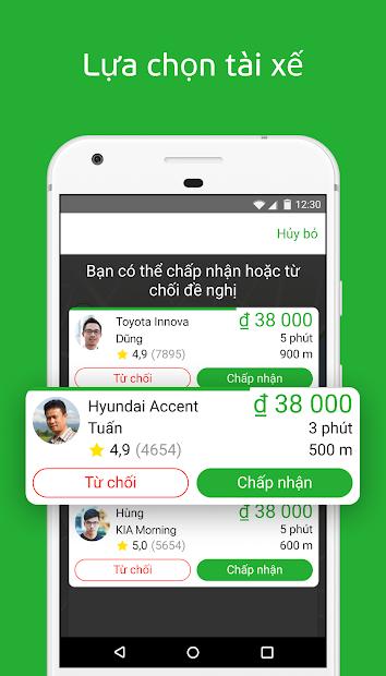 Screenshots inDriver: Ứng dụng book xe ôm công nghệ