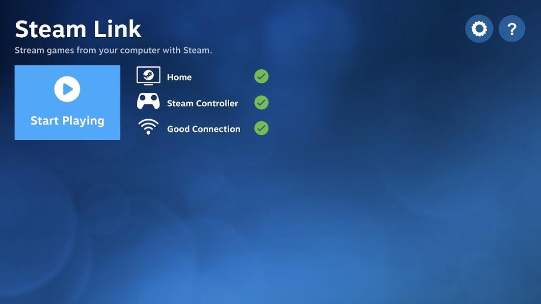 Screenshots Steam Link - Kết nối Steam trên máy tính với điện thoại, TV