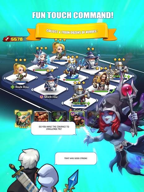 Screenshots The Hero Trace - Khám phá vùng đất rộng lớn của phép thuật