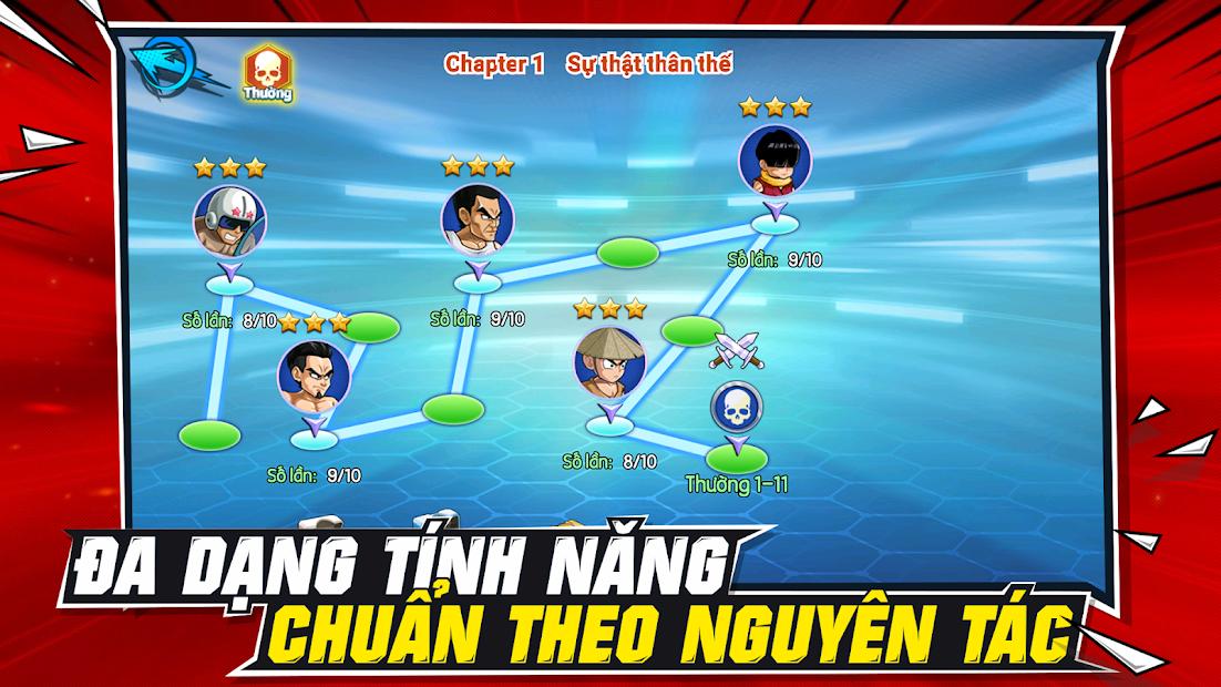 Screenshots Rồng Thần Huyền Thoại Mobile – game đấu tướng Dragonball thế hệ mới