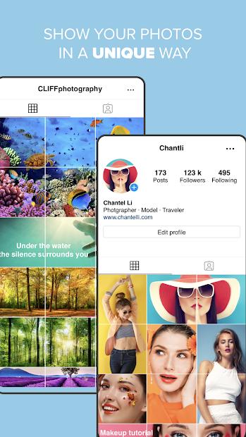 Screenshots Giant Square for Instagram - Ứng dụng tạo ảnh lưới trên Instagram