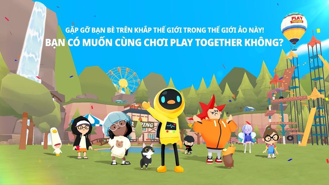 Screenshots Play Together | Game phiêu lưu thế giới mở đáng yêu