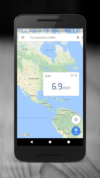 Screenshots GPS Speedometer - App đo tốc độ, quãng đường di chuyển
