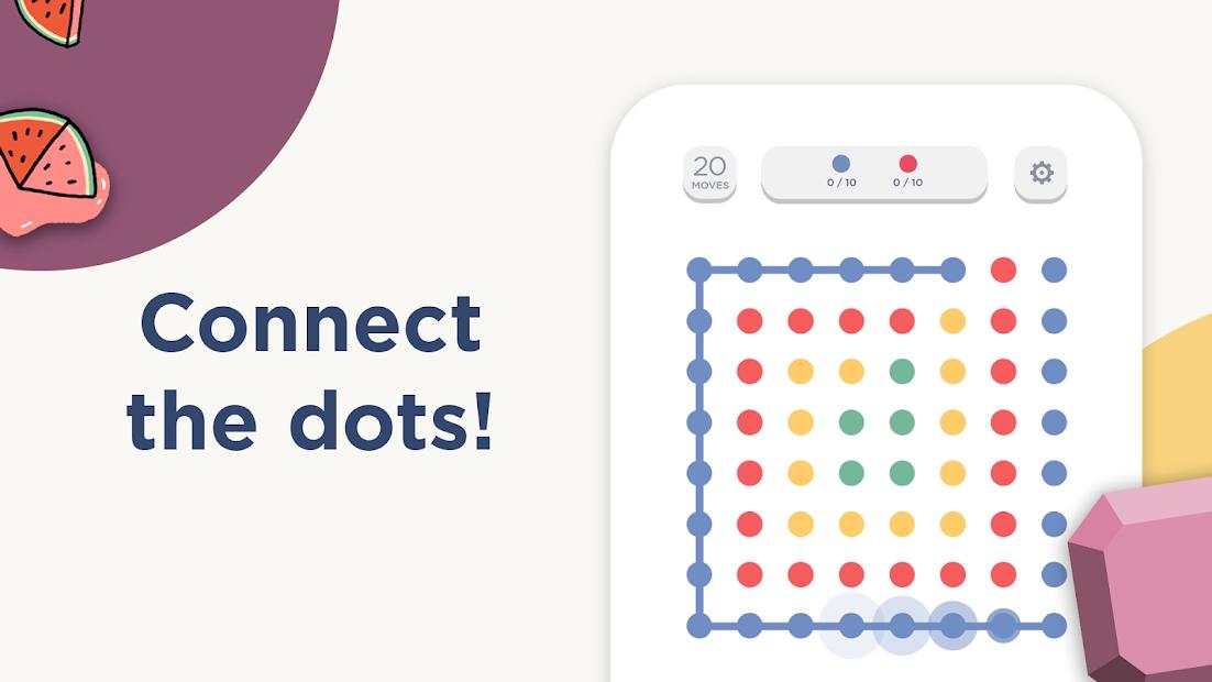 Screenshots Two Dots - Game trí tuệ giải đố vui nhộn