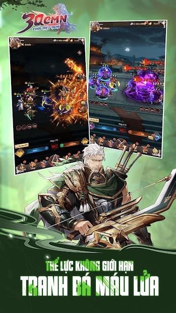 Screenshots 3Q CMN - Game thẻ tướng Tam Quốc thế hệ mới