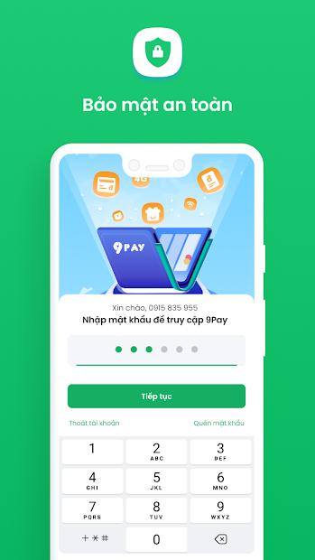 Screenshots Ví điện tử 9Pay - Thanh toán online trong tầm tay