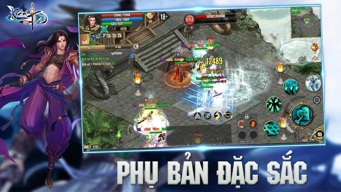 Screenshots Kiếm Thế ADNX Mobile - Kiếm Vương Trở Lại