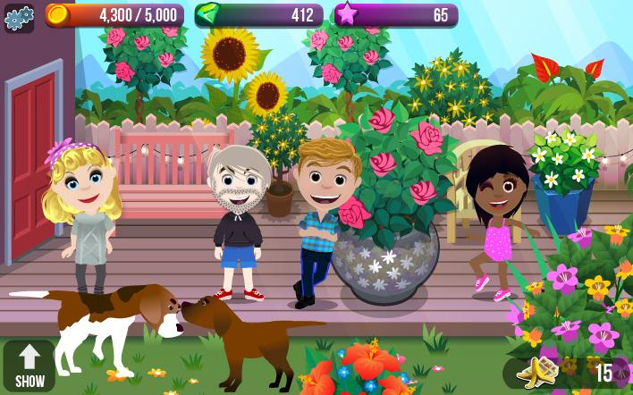 Screenshots Family House: Heart & Home - Sáng tạo gia đình riêng cho bạn