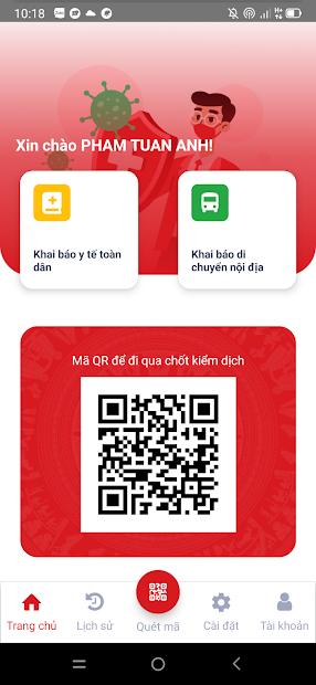 Screenshots Tải VNEID: Ứng dụng khai báo di chuyển nội địa, di biến động dân cư