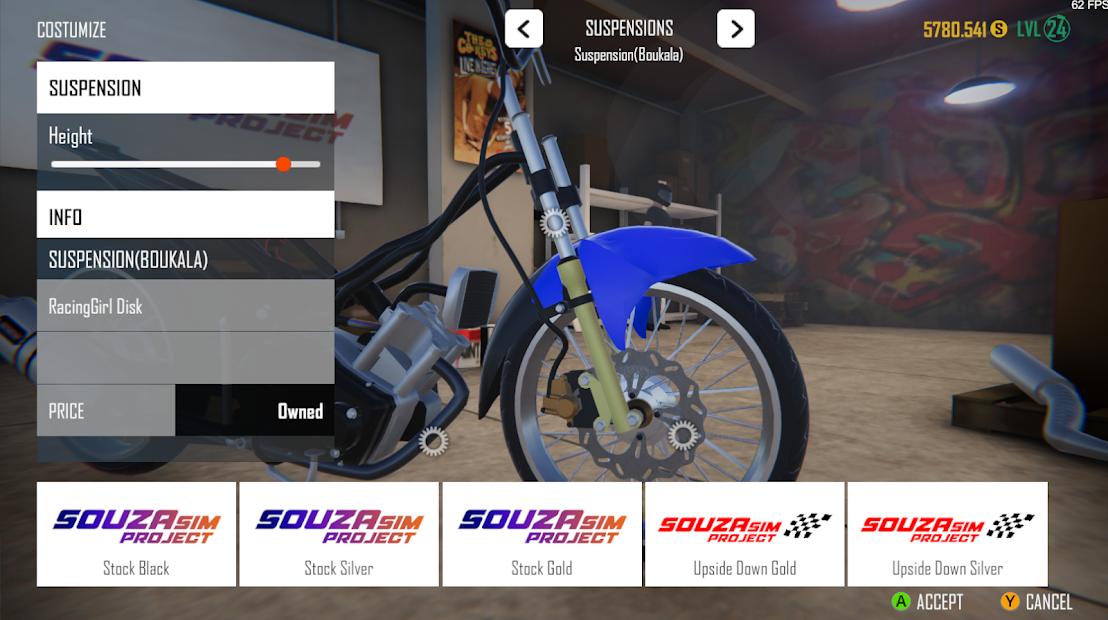 Screenshots SouzaSim Project - Thỏa mãn đam mê độ xe của bạn