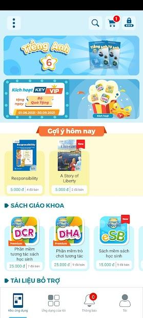 Screenshots App Eduhome: Sách học tiếng Anh dành cho học sinh lớp 1 - lớp 9