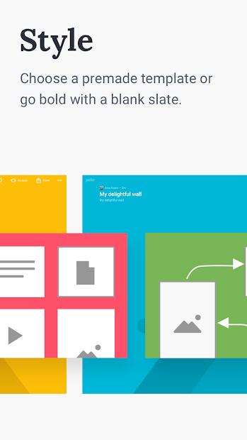 Screenshots App Padlet: Ứng dụng tạo trang blog cá nhân trong học tập
