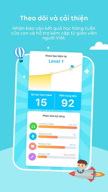 Screenshots Babilala: Ứng dụng học tiếng Anh Cho Bé