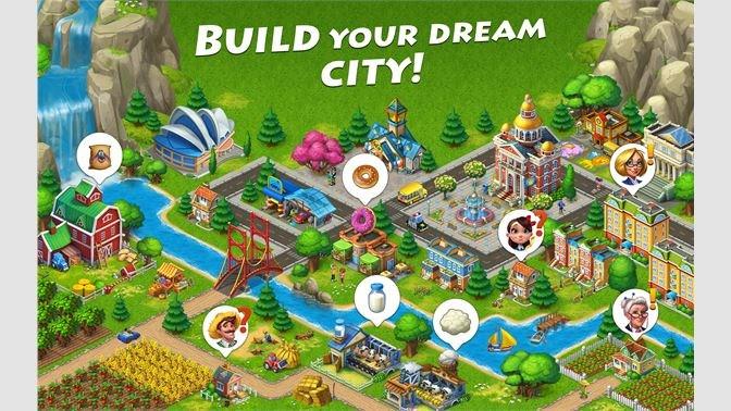 Screenshots Township: Farm & City Building - Thành phố nông trai
