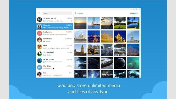 Screenshots Telegram Messenger - Ứng dụng nhắn tin Telegram