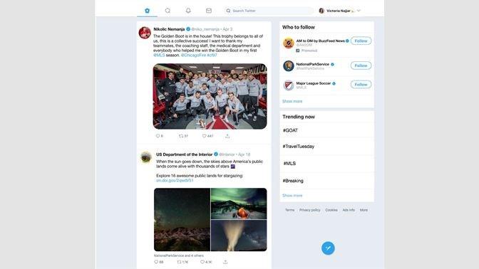 Screenshots Twitter - Ứng dụng mạng xã hội Twitter