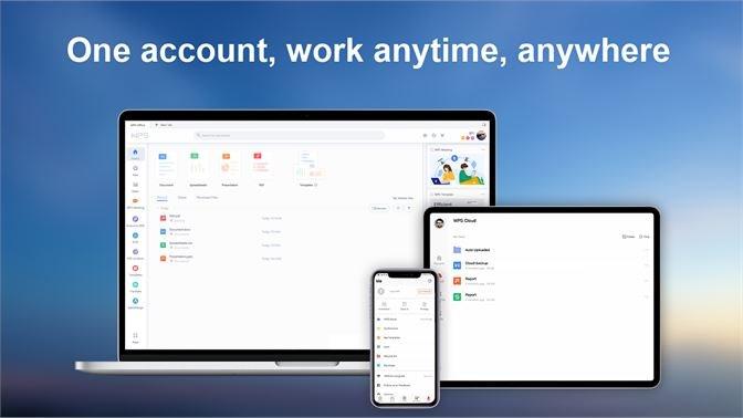 Screenshots Tải WPS Office bản quyền miễn phí cho Macbook, Windows, iOS, Android